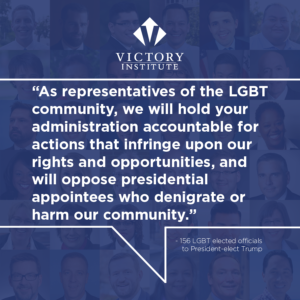 156 LGBT Elected Officials Call On President-elect to Support Equality During His Presidency